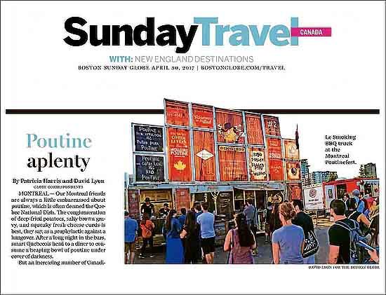 Montreal Poutinefest in Boston Globe