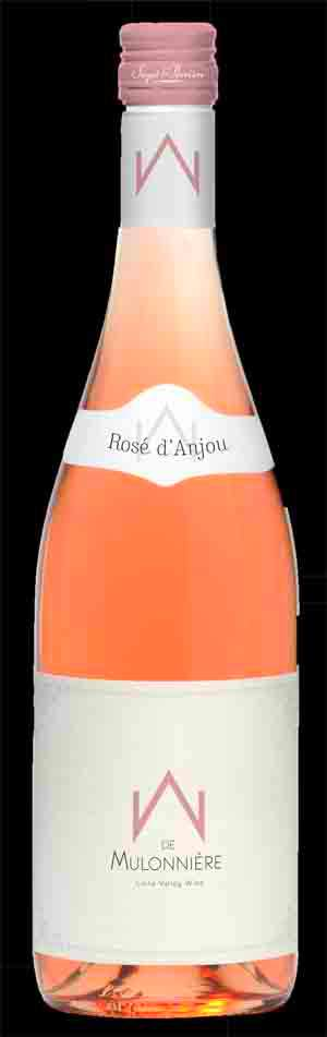 Bottle shot of rosé d'Anjou