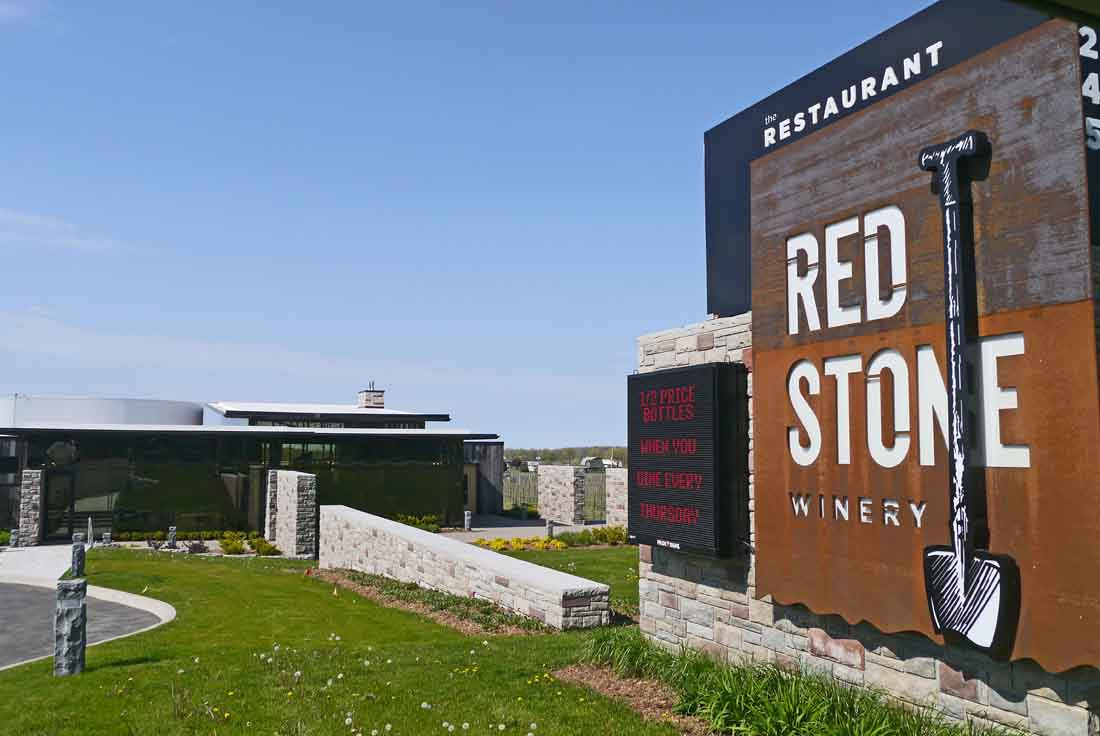 Redstone Winery in Niagara, owned by Moray Tawse