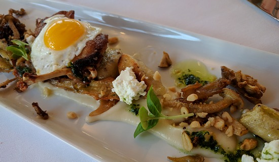 quail at Vineland restaurant in Niagara