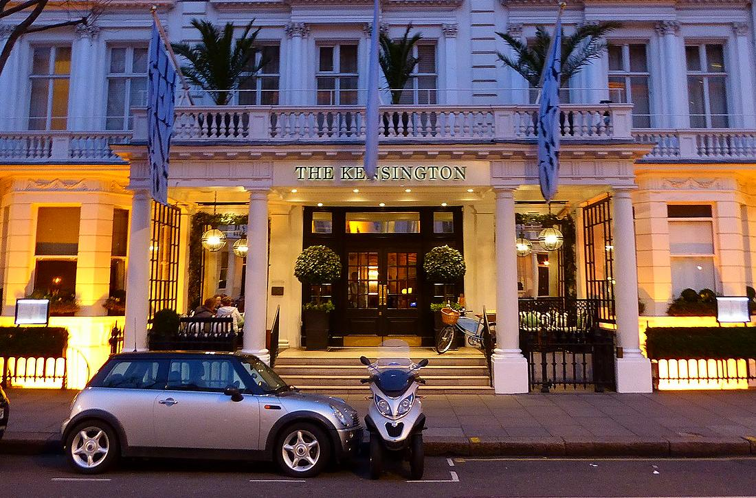 Kensington hotel exterior
