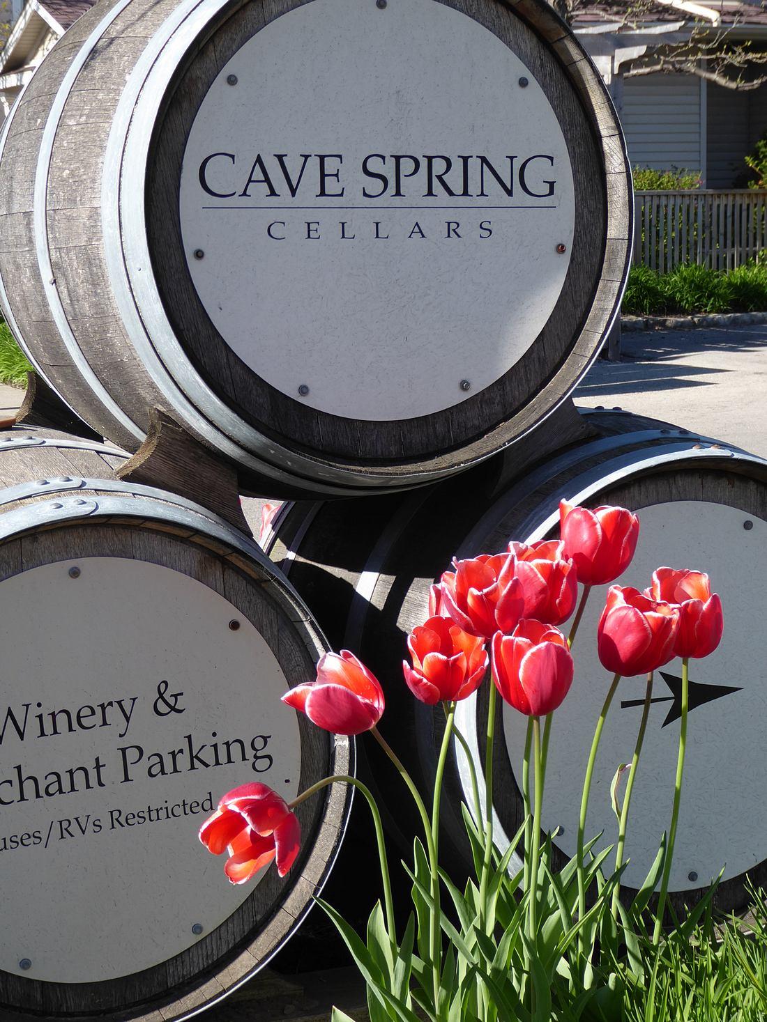 Cave Spring Cellars barrels