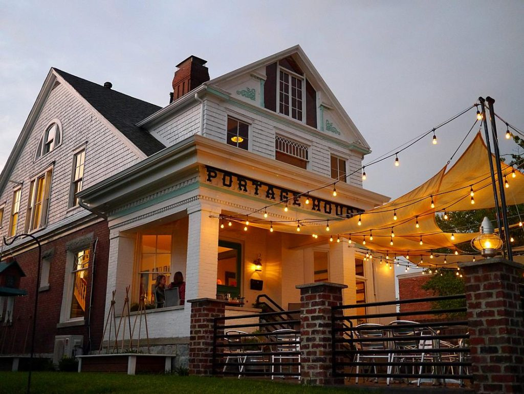 Portage House crafts riverside heartland cuisine