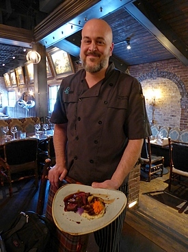 Chef Chip Lawrence at Le Moo in Louisville