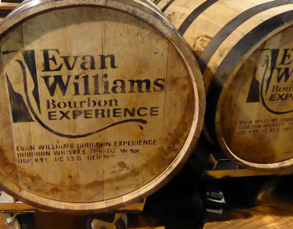 Evan Williams stakes claim to bourbon history
