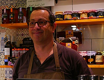 Francisco Vera of Relicatessen in La Boqueria in Barcelona