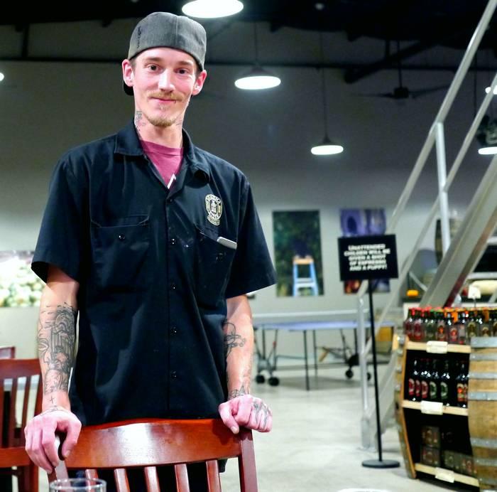 Chef Josh Schauert at Sonoma Cider Taproom