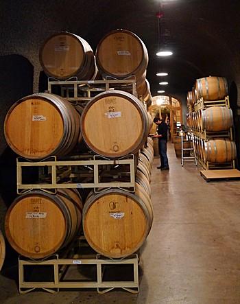 Barrels in caves of Bella