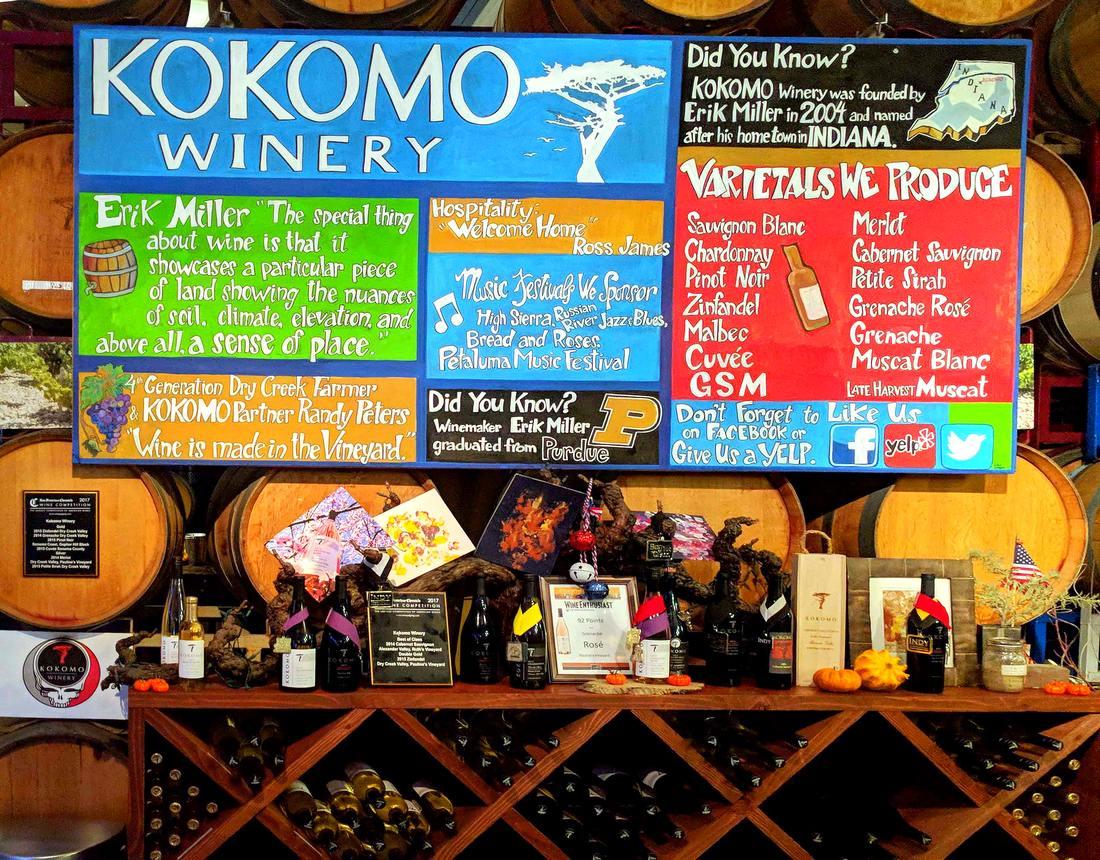 Kokomo tasting room