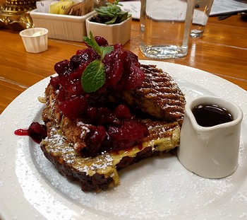 French toast at Costeaux Bakery