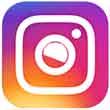 instagram button 110px