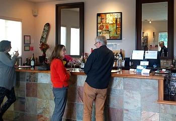 Moshin Vineyards tasting room