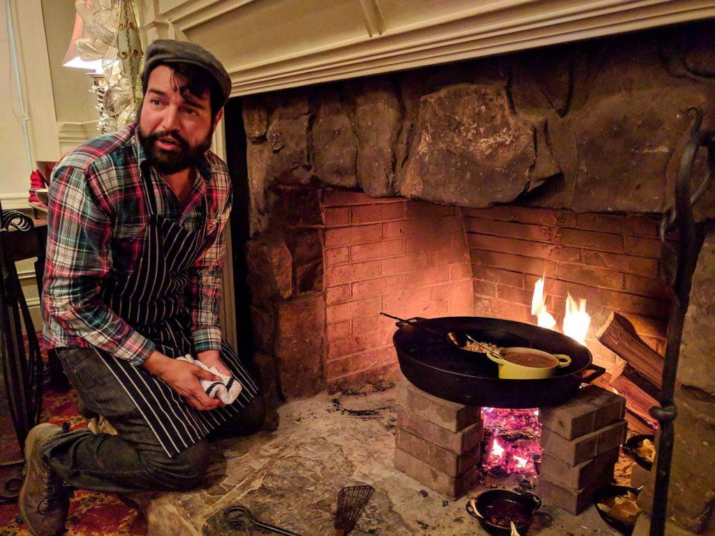 Hugo Cifuentes at Rice House at Barnsley Resort