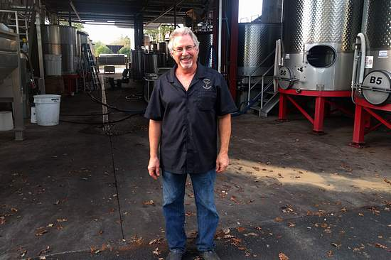 Rick Moshin of Moshin Vineyards