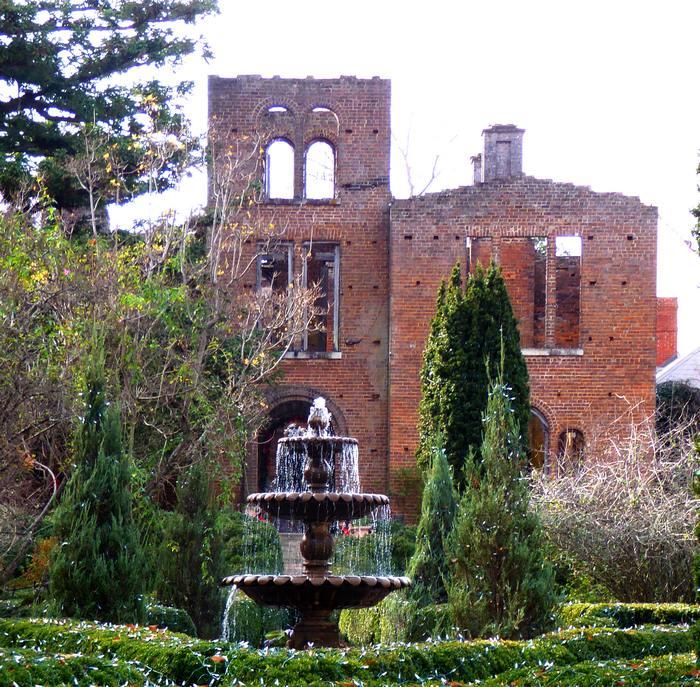 Barnsley ruins by daylight