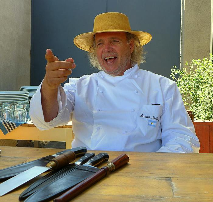 Francis Mallmann at Siete Fuegos at Vines