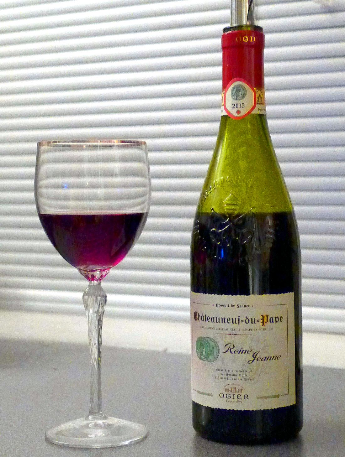 Ogier Chateauneuf-du-Pape Reine Jeanne 2015
