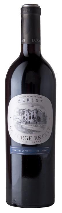 La Forge Estate Merlot bottle