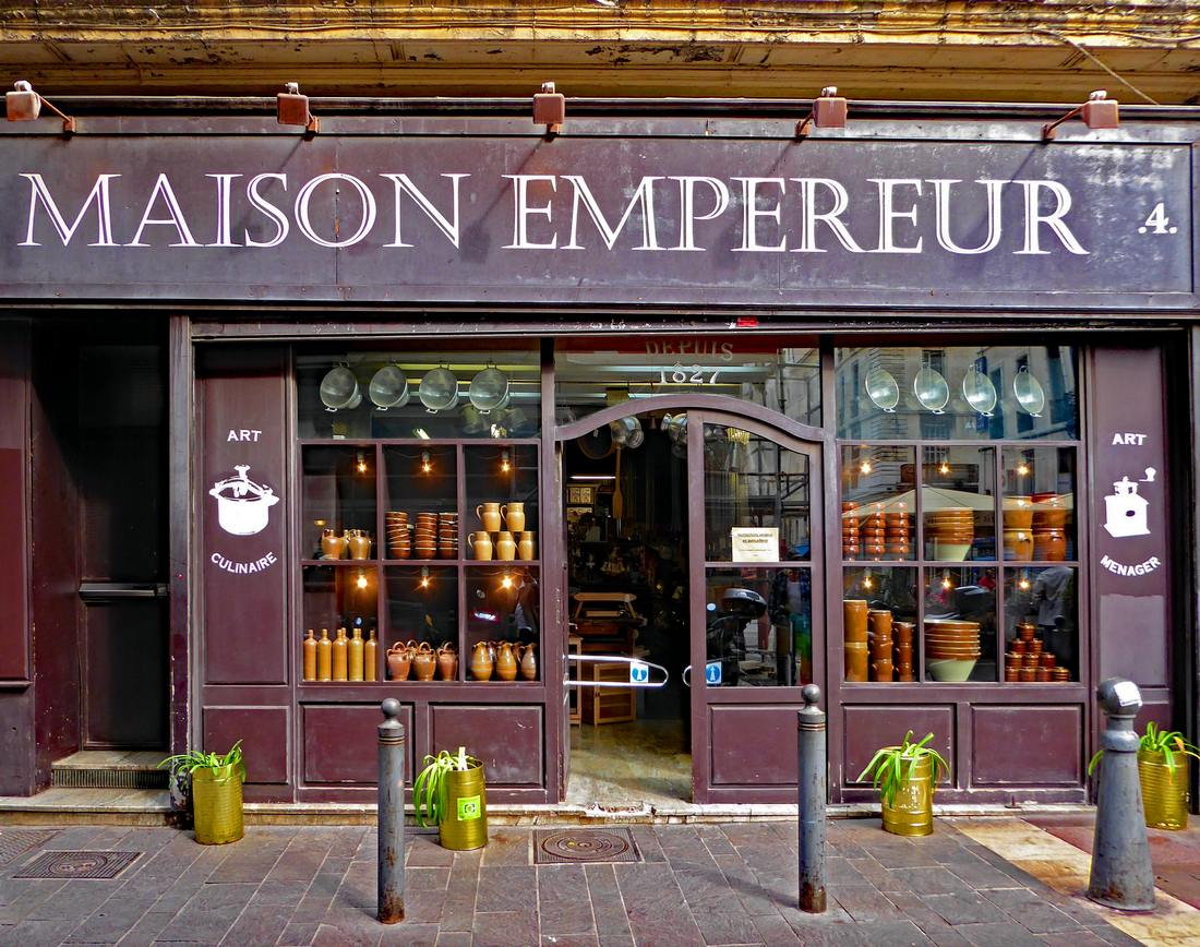 exterior of Maison Empereur in Marseille