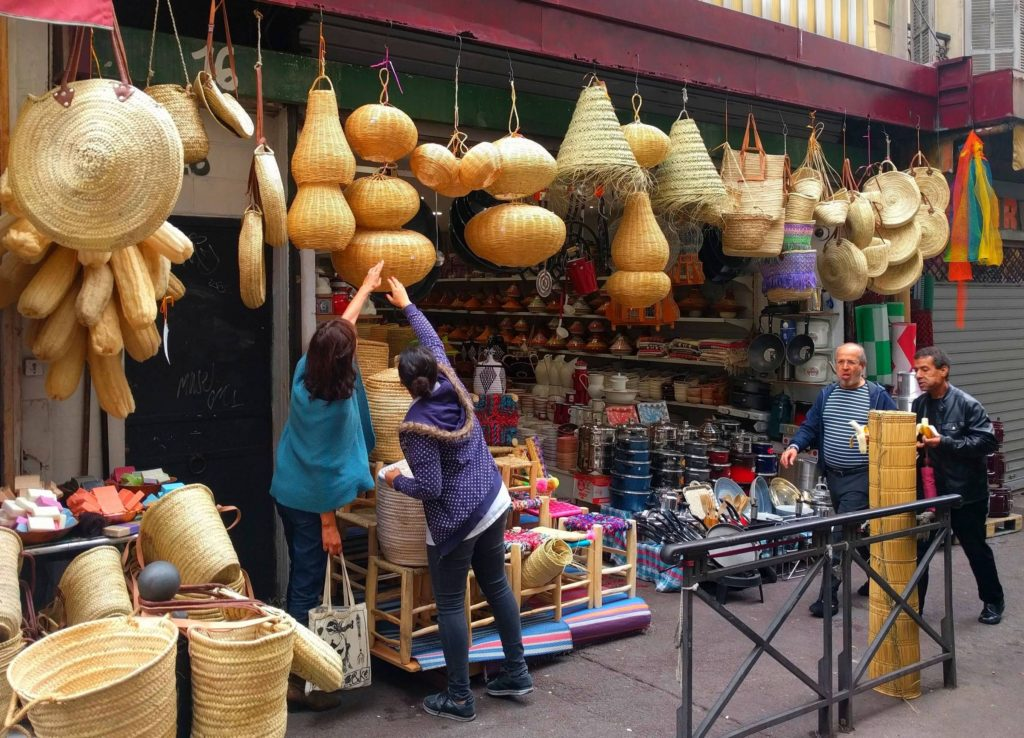 Housewares in North African Marseille