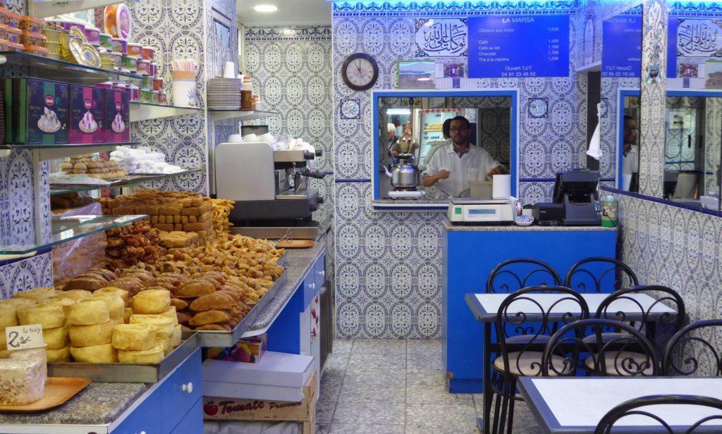 La Marsa tea salon in North African Marseilles