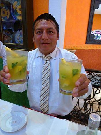 Santos Elan with Paraiso Perdido at Occidental Cozumel