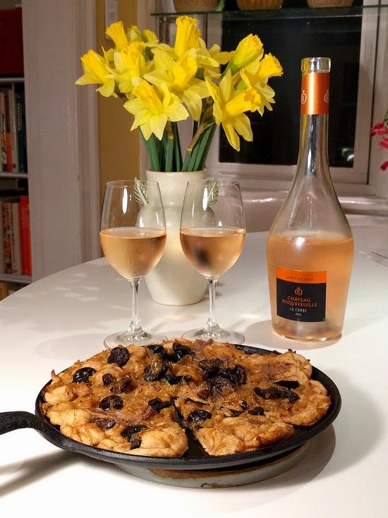 Provençal rosé cries out for pissaladière