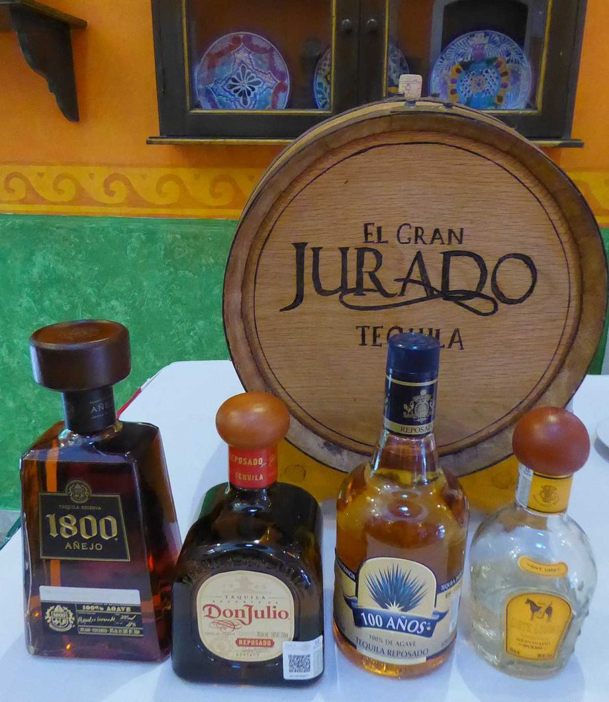 tequilas at Occidental Cozumel