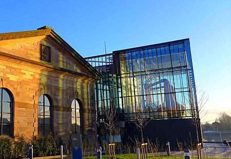 Clydeside Distillery exterior Glasgow