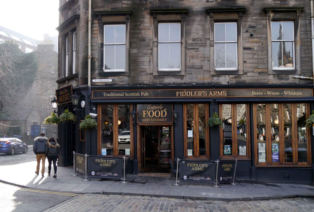 Fiddlers Arms in Edinburgh