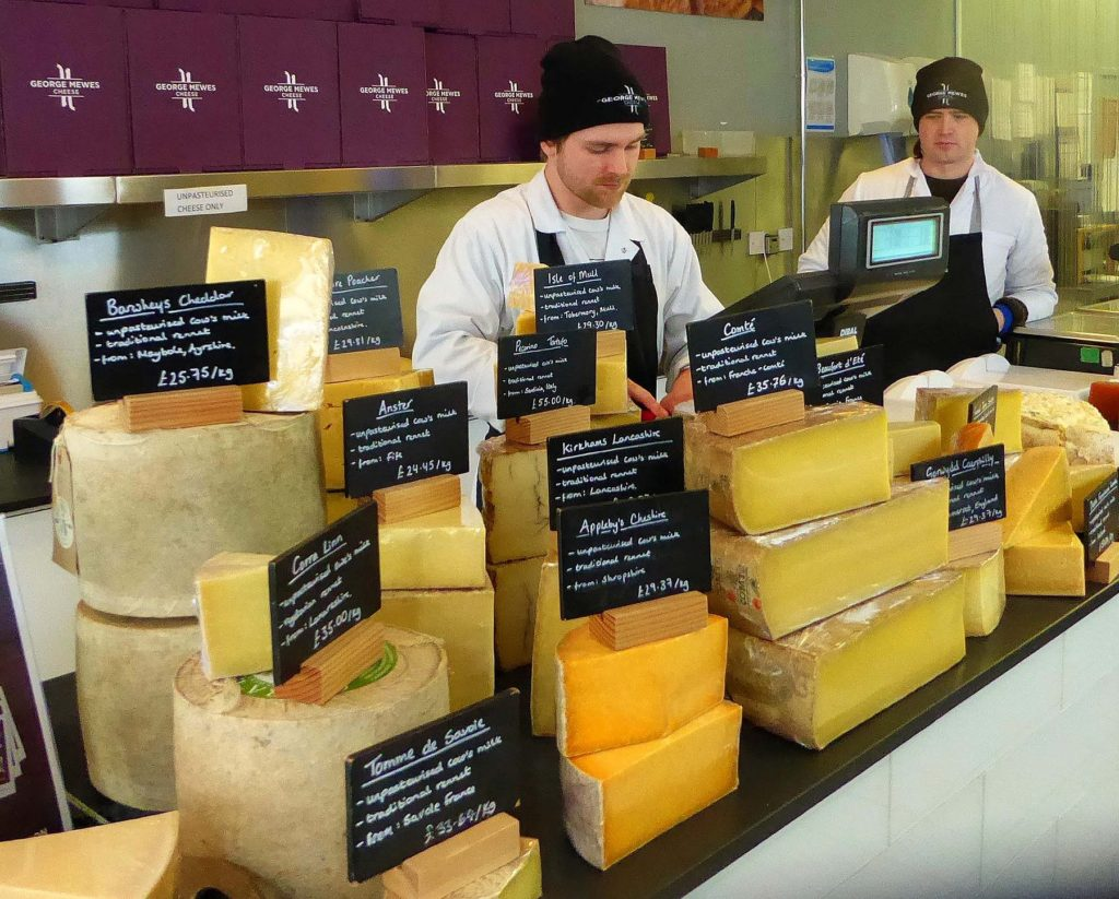 George Mewes Cheese shop in Glasgow