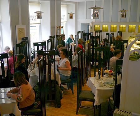 Willow Tea Rooms at Buchanan Street in Glasgow