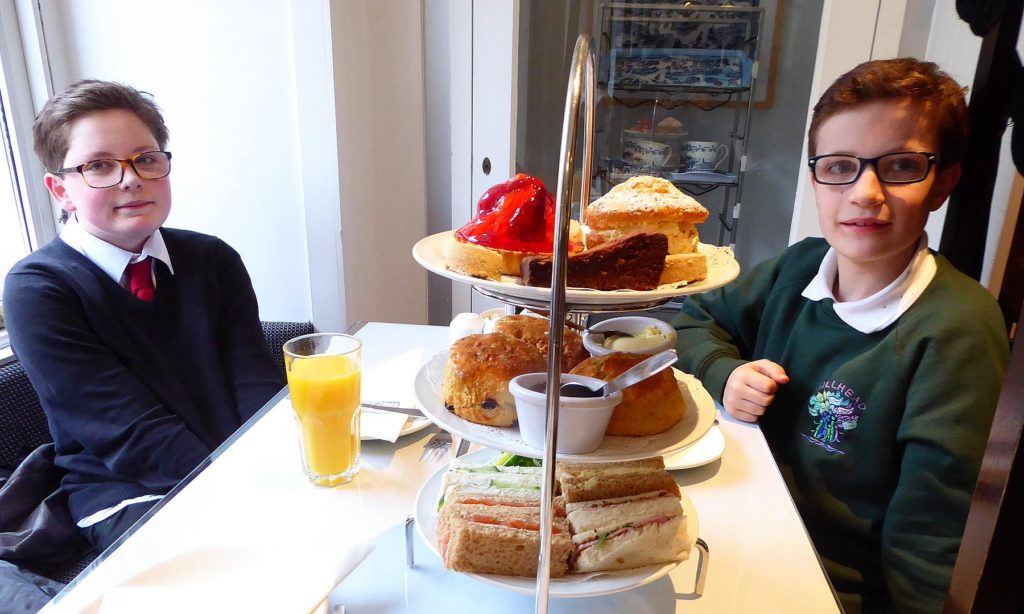 Willow Tea Rooms perpetuate a grand tradition