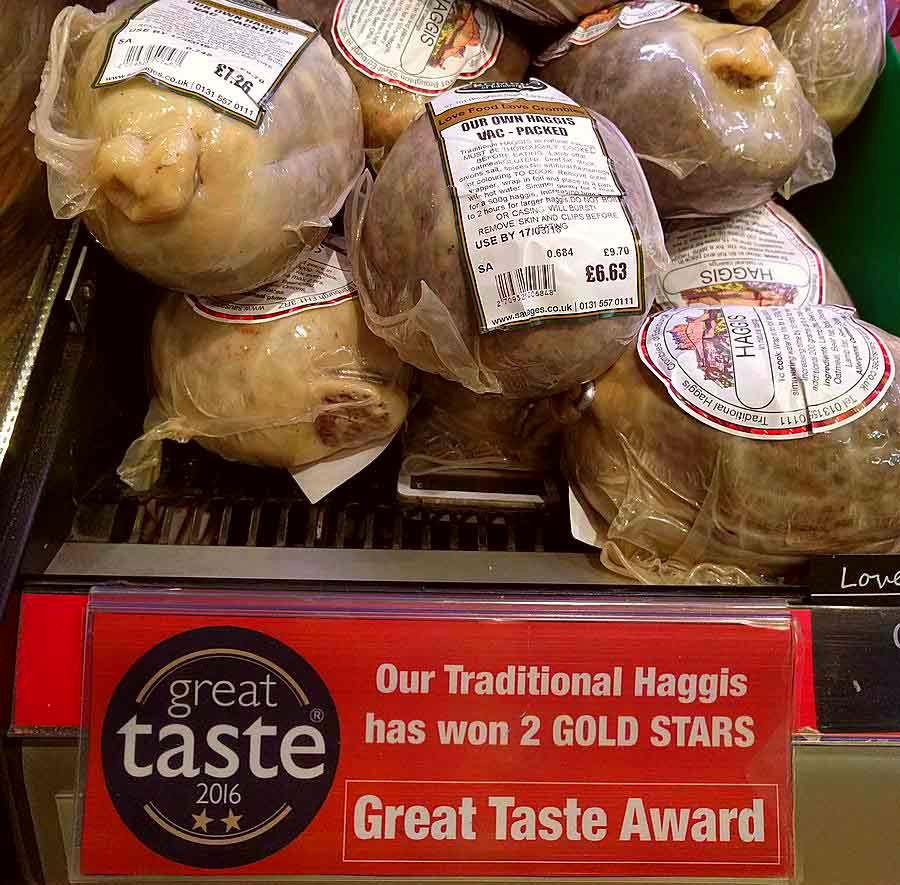 Crombies of Edinburgh haggis