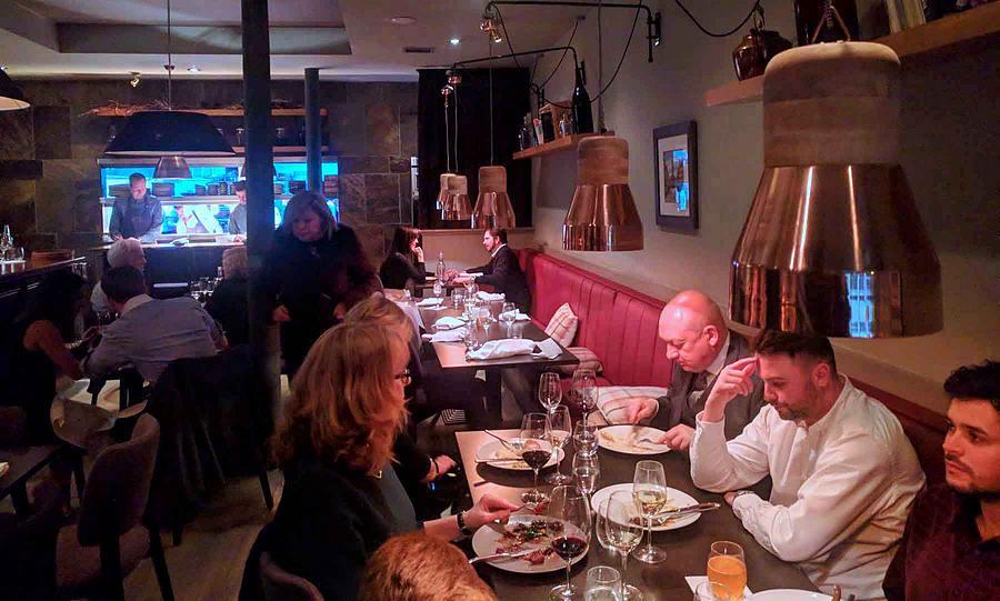 Cail Bruich restaurant in Glasgow