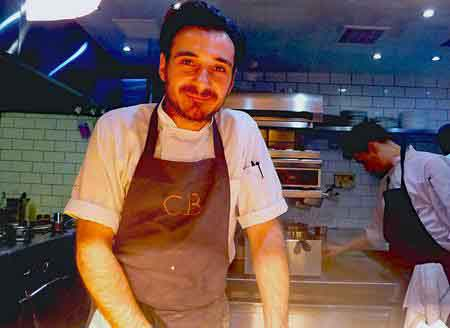 Chef Chris Charalambous of Cail Bruich in Glasgow