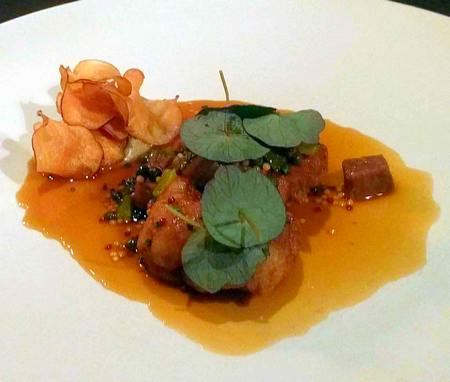 veal sweetbreads at Cail Bruich