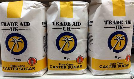 caster sugar in grocery store