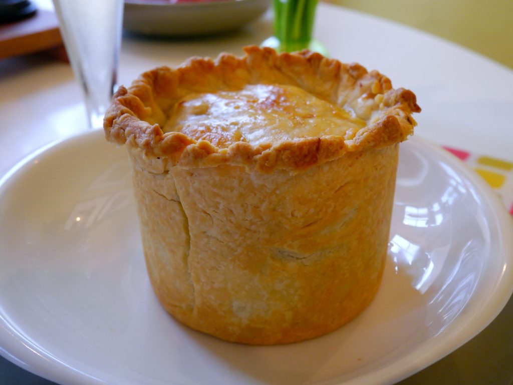 Cock-a-leekie soup inspires a Scottish pie