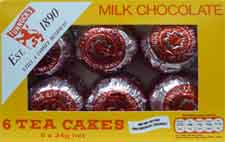 Tunnock's Tea Cakes in grocery
