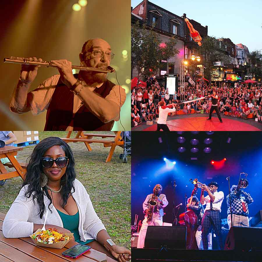 Festivals and food make summer sizzle in Montreal