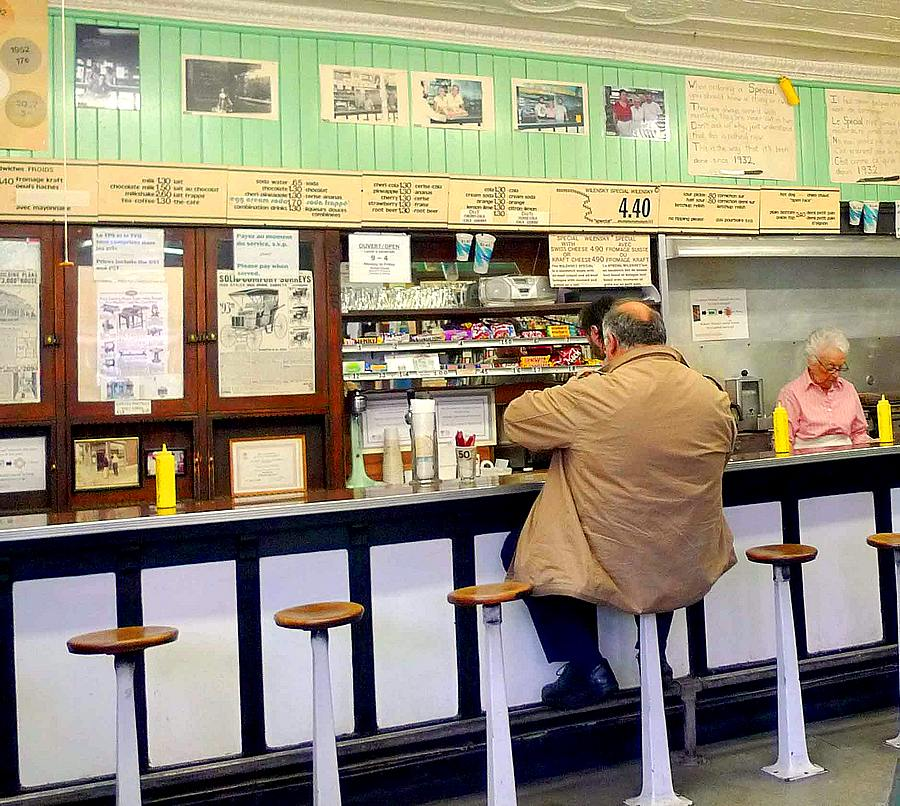 Wilensky Light Lunch counter