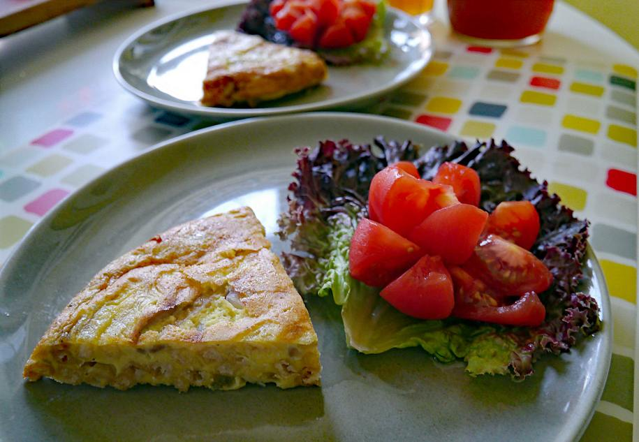 An American shortcut to Spanish tortilla