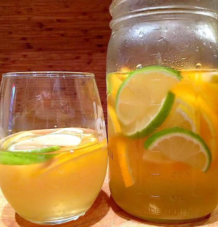sangria in jars