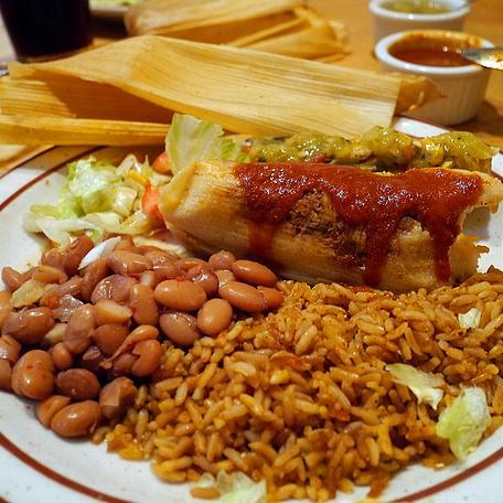 tamales at The Shed in Santa Fe