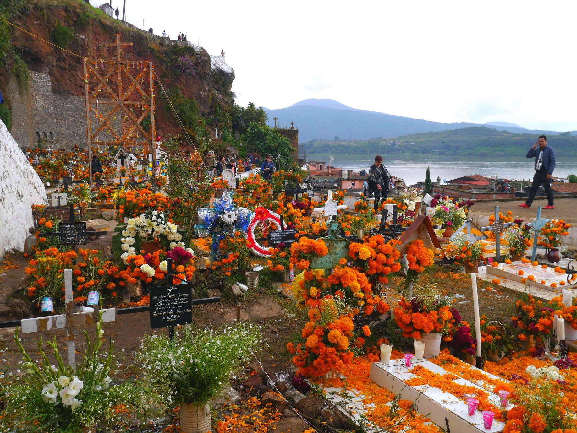 Dia de los Muertos in Janitzio. Michoacan