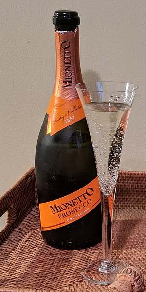 Consider Mionetto Prosecco for the Easter table
