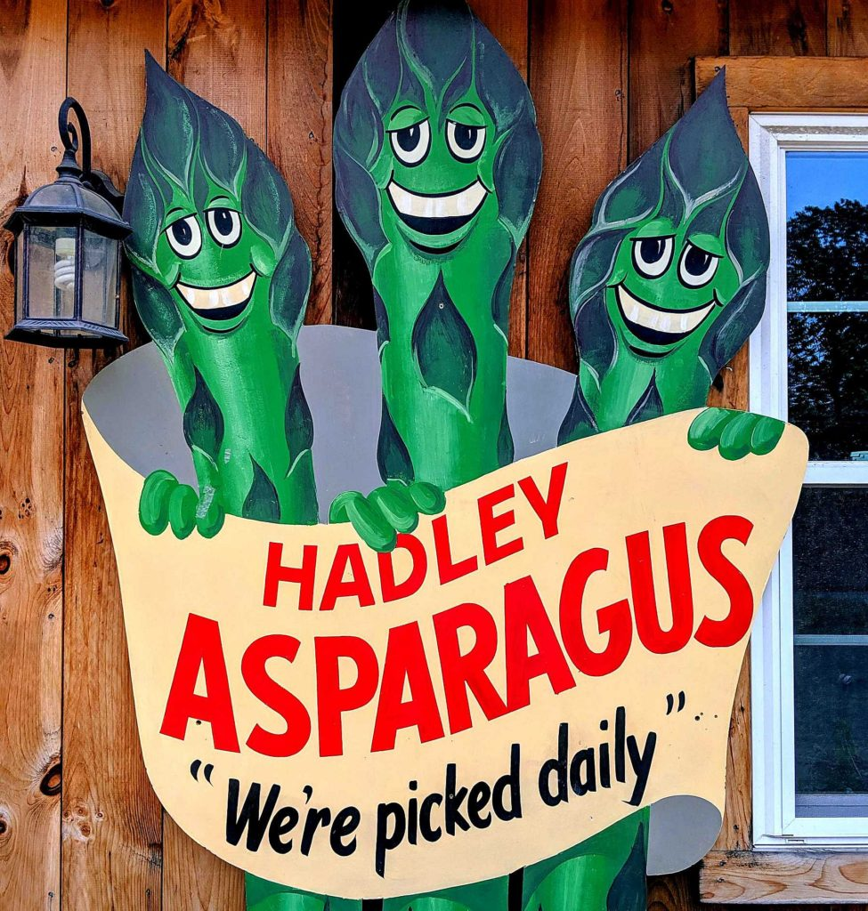 The sheer joy of Hadley asparagus