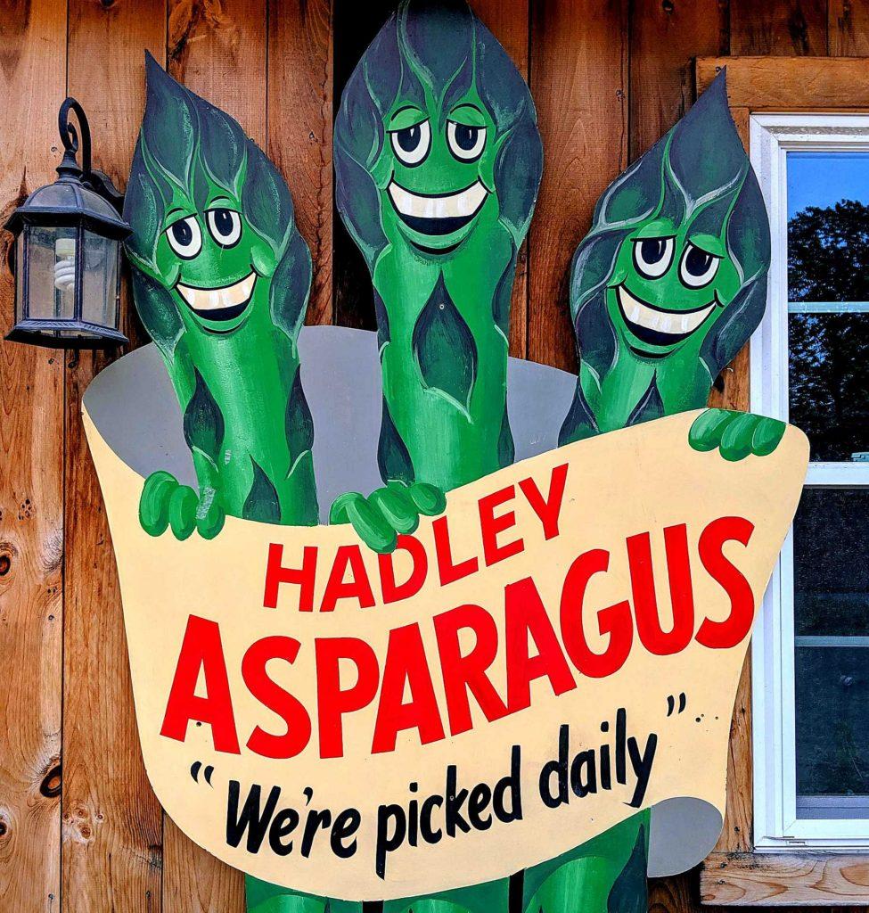 The sheer joy of Hadley asparagus