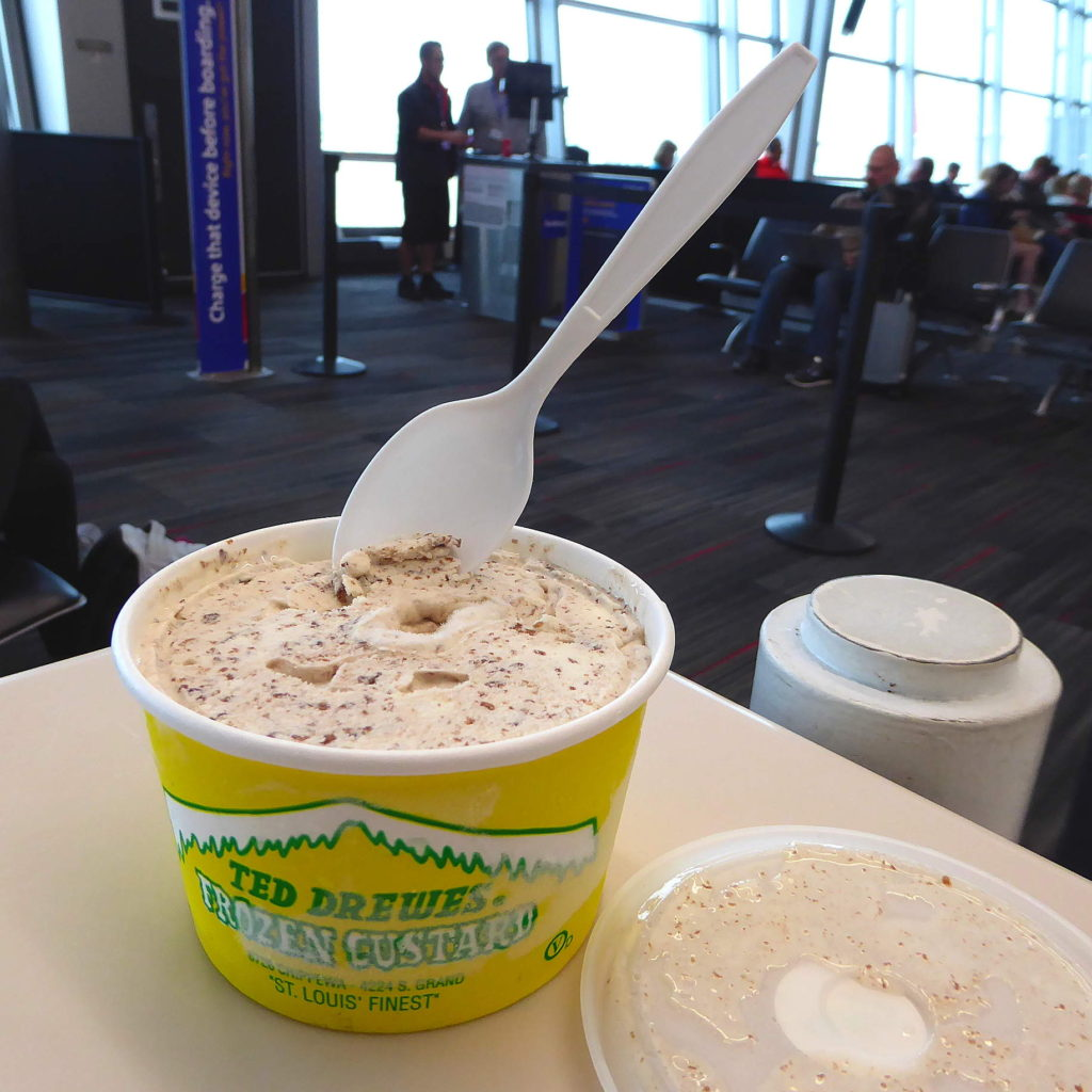 What to eat at the airport: STL